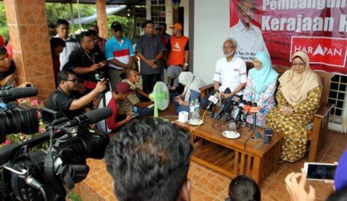 PRK: Wan Azizah Ambil Cuti Turun Kempen