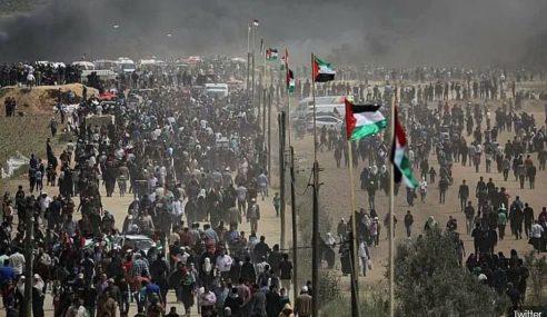 Israel Guna Peluru Getah, Bom Kawal Rakyat Palestin