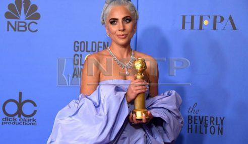 Lady Gaga Ungguli Anugerah Golden Globes