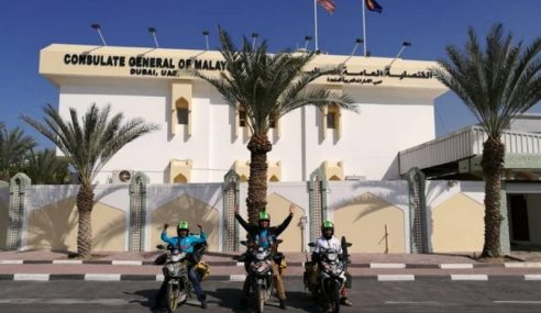 Geng Gi Mekoh Nga Mutor 'Tersadai' Di Dubai