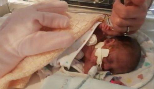 Bayi Ajaib Lahir Lewat 17 Hari Lepas Kematian Kembar