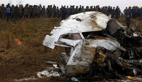 Bilangan Maut Pesawat Komersial Naik Pada 2018