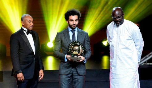 Salah Pertahan Anugerah Pemain Terbaik Afrika