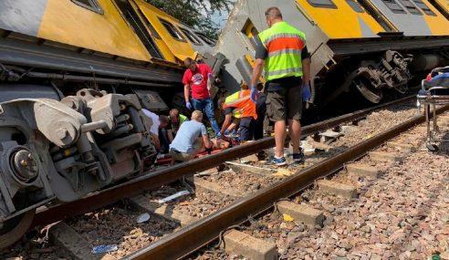 Nahas Tren Afrika Selatan: 3 Maut, Lebih 600 Cedera