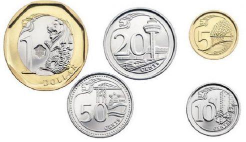 Singapura Had Duit Syiling 20 Keping Nilai Sama
