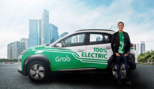 Grab Singapura Mula Lancar 200 Kereta Elektrik