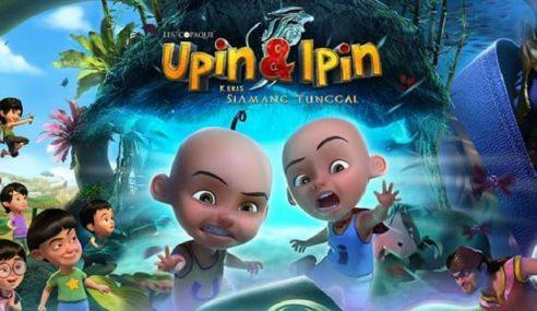 Filem Upin & Ipin Dalam 3D Bakal Ditayang