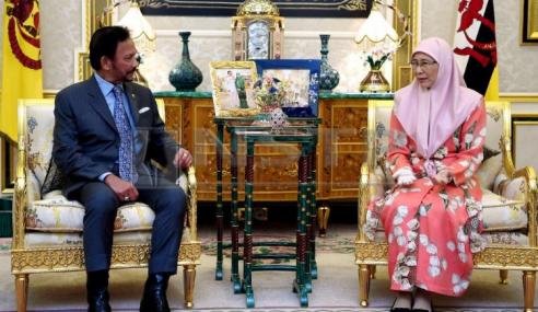 TPM Minta Rakyat Malaysia Di Brunei Beri Sumbangan Bangunkan Negara
