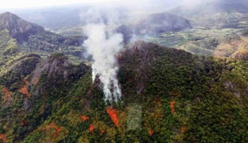 Operasi Padam Kebakaran Gunung Baling Sukar