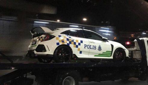 Polis Belum Ada Keputusan Guna Honda Civic Type R