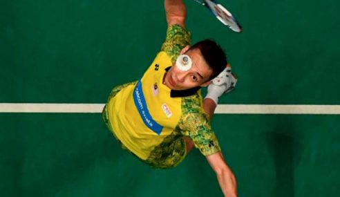Lee Chong Wei Mahu Gantung Raket