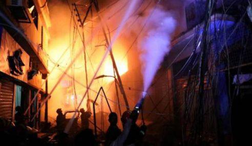 Angka Korban Kebakaran Di Dhaka Meningkat 70 Orang