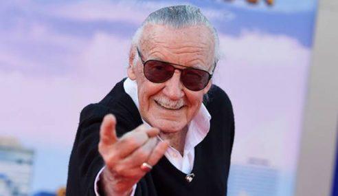 Mendiang Stan Lee Diraikan Ratusan Peminat, Selebriti
