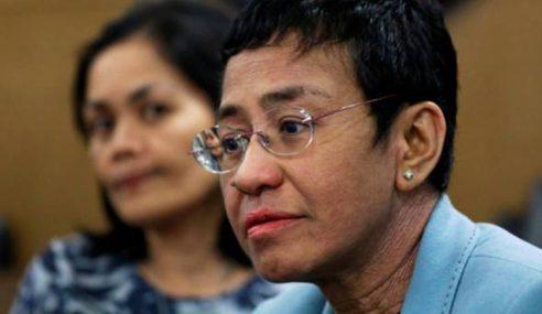 CEO Portal Berita Rappler Ditangkap Polis