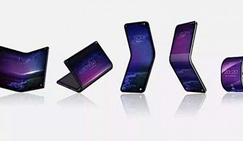 China Hasilkan Telefon, Tablet Boleh Lentur