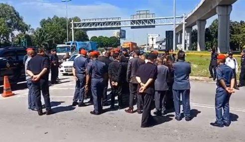 Mahkamah Koroner Lawat Lokasi Jentera FRT Diserang