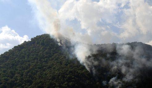 Kebakaran Di Gunung Baling Kembali Marak