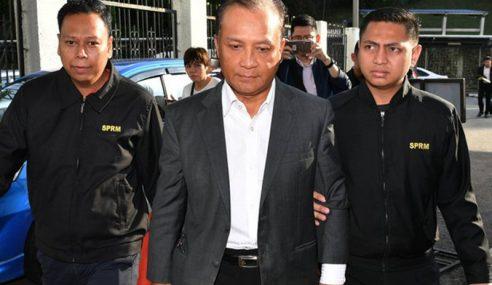Bekas MP Kota Tinggi Didakwa 14 Tuduhan Rasuah Lagi