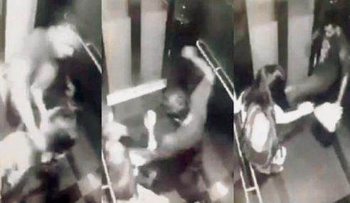 Polis Tahan Suspek Belasah, Samun Wanita Di MRT