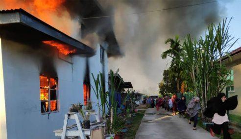 Sekolah Pondok Tarbayatun Nisa Di Tuaran Terbakar