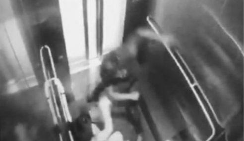 Suspek Samun MRT Cukur Kepala Semasa Serbuan Polis