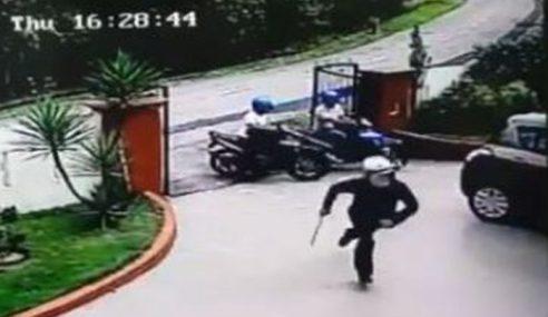 Polis Buru Kumpulan Lelaki Cuba Samun Di Bukit Kuchai