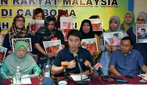 MP Julau, Keluarga Tahanan Ke Kemboja Rabu