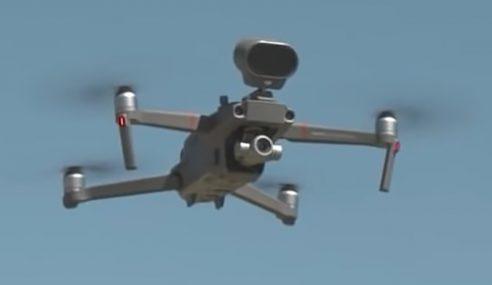 Dron 'Menyalak' Ganti Anjing Gembala