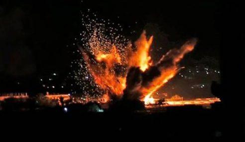 Pesawat Israel Bedil Gaza