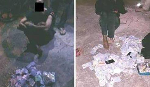 Lelaki Leka 'Pancing' Duit Surau Ditangkap Penduduk