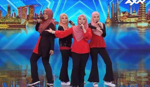 4 Gadis Berhijab Memukau Di Asia's Got Talent