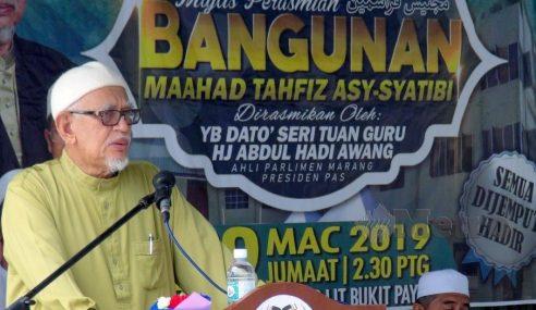 PAS Tunggu Kerjasama Dengan MCA – Abdul Hadi