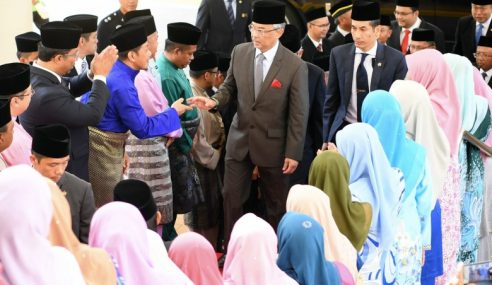 Agong Berkenan Lawat Majlis Ugama Islam Sabah