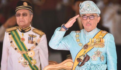 Agong Rasmi Istiadat Pembukaan Dewan Rakyat 11 Mac