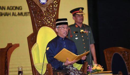 Agong Zahir Simpati Keluarga Mangsa Gempa Lombok