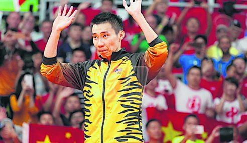 Lee Chong Wei Tarik Diri Terbuka Malaysia