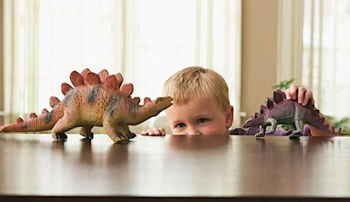 Gemar Dinosaur Ciri Kanak-Kanak Bijak