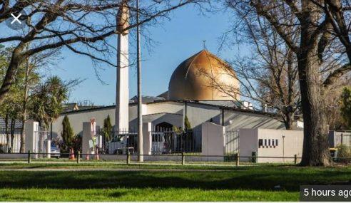 40 Syahid Serangan Ke Atas 2 Masjid Di New Zealand