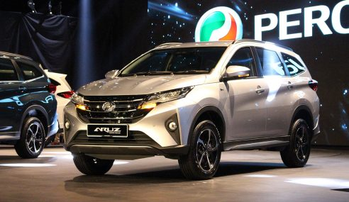 Jualan Perodua Meningkat 7.3 Peratus