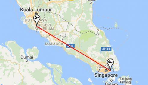 KL-Singapura Laluan Penerbangan Tersibuk Di Dunia