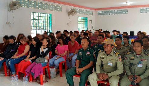 Polis Tahan Suspek Sindiket Kerja Kemboja