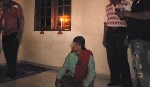 'Raja Muda' Amal Ritual Aneh Ditahan