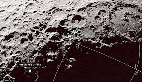 NASA Temui Air 'Melompat' Di Bulan