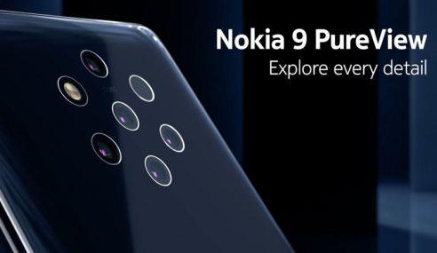 Nokia Tampil Telefon Pintar 5 Kamera Belakang!
