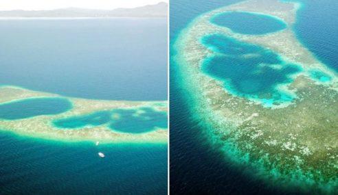 Blue Hole Di Sabah, Jadi Syurga Penyelam Skuba