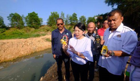 Sungai Kim Kim Bebas Daripada Pencemaran Sisa Toksik