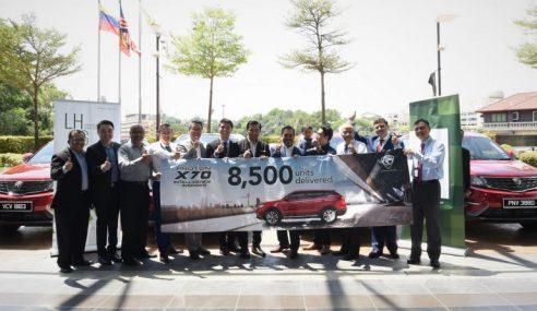 8,500 Proton X70 Terjual Dalam Tempoh 100 Hari