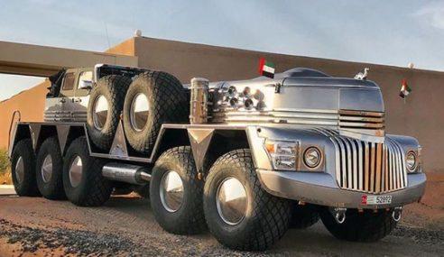 SUV Terbesar Di Dunia, Gabungan Trak Tentera Dan Jip