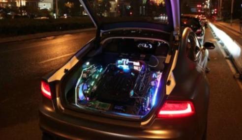 Ubah Audi S7 Jadi Komputer Berkuasa Tinggi