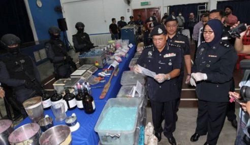 Polis Tumpas Sindiket Pil Ekstasi Terbesar Negara